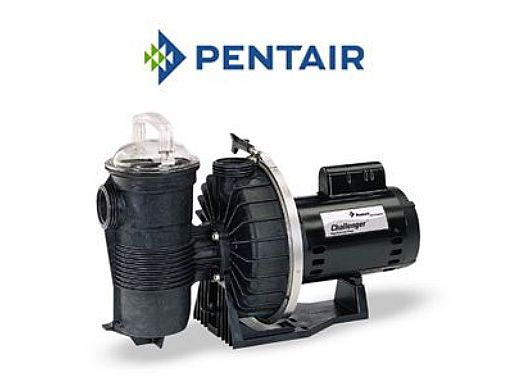 Pentair Challenger .75HP High Pressure Standard Efficiency Up Rated Pool Pump 115V 230V | 346203