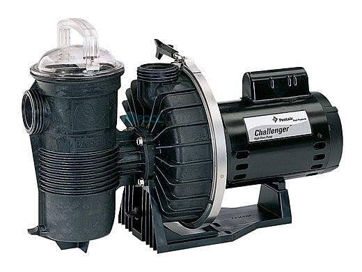 Pentair Challenger 2HP High Flow Pool Pump Up-Rated 115V 230V | 343240