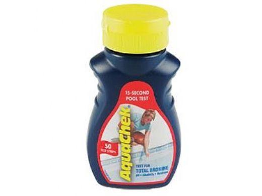 AquaChek® Red 4-in1 Bromine Test Strips | 521252A