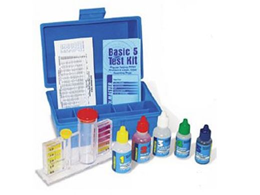 Pool Master 5-N-1 Test Kit CL,BR,pH,AD,TA | 22276