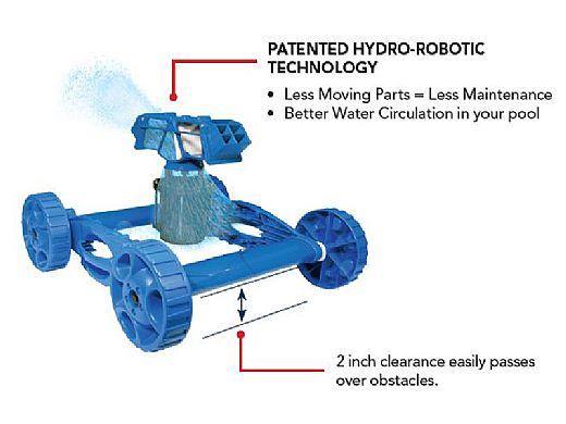 Aquabot Pool Rover Hybrid Robotic Pool Cleaner Aprvdc