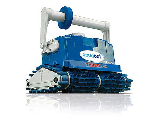 Aquabot Turbo T2 Robotic Pool Cleaner Caddy Included