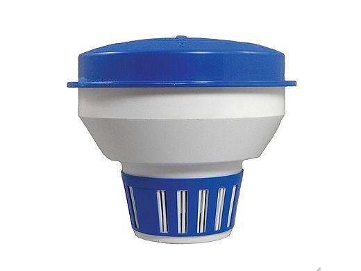 "Pool Pals Blue & White 3"" Tab Chlorinator 2.5lb Capacity | CL296ABW"
