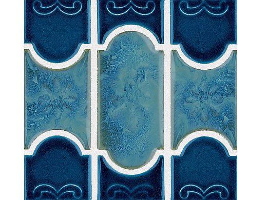 National Pool Tile Botanical Series Pool Tile | Lake Blue | BUE44