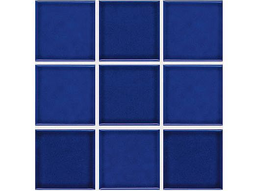 National Pool Tile 2x2 Glazed Series | Cobalt  | BX250