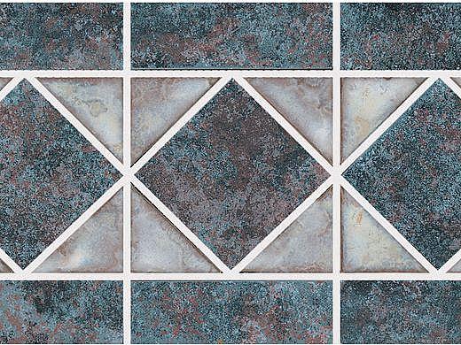 National Pool Tile Dakota Series   Rustic Brick   DKB354