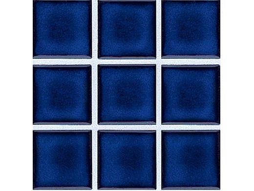 National Pool Tile 2x2 Glazed Series   Royal Blue   HM-206