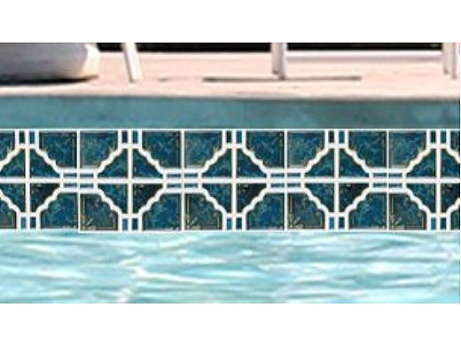 National Pool Tile Moonbeam Series   Ocean Green   ME33