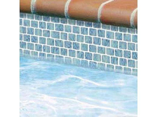 National Pool Tile Mini Koyn Series | Olive Blue | MK1331