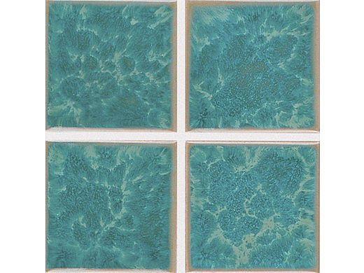 National Pool Tile Harmony 3x3 Series | Olive Blue | HS331