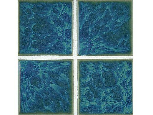 National Pool Tile Harmony 3x3 Series   Ocean Blue   HS332