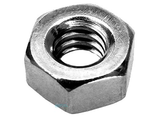 """Pentair Nut 1/4""""-20 Hex Head Stainless Steel   2 Required   071406"""