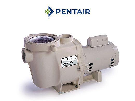 Pentair WhisperFlo .75HP Standard Efficiency Up-Rated Pool Pump 115-230V | WF-23 | 011771