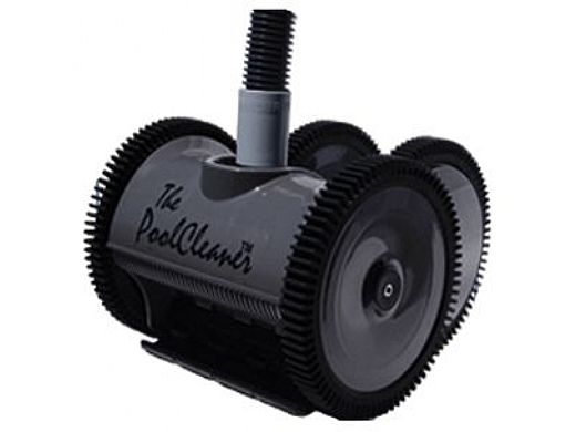 Poolvergnuegen PoolCleaner 4-Wheel Suction Side Cleaner   Limited Edition Dark Gray   W3PVS40GST