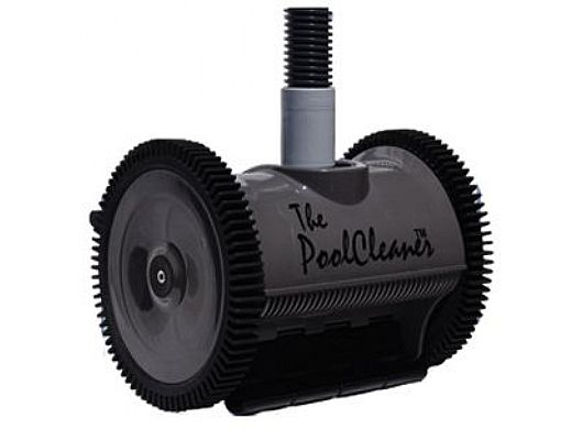 Poolvergnuegen PoolCleaner 2-Wheel Suction Side Cleaner   Limited Edition Dark Gray   W3PVS20GST