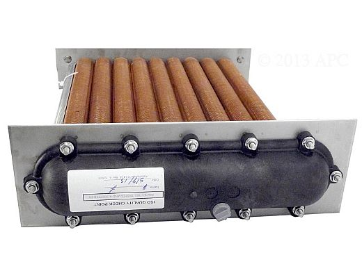 Raypak R266A/R267A Copper Heat Exchanger Polymer Kit | 010044F