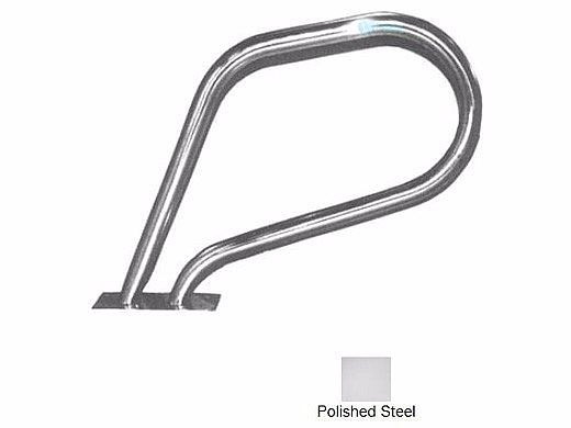 SR Smith Spa Stainless Steel Rail with Welded Mounting Plate | 304 Grade | .049 Wall Residential | SR-100