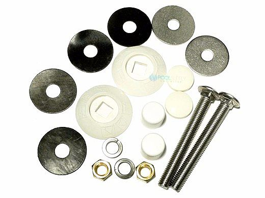 SR Smith Board Mounting Kit White 2-Bolt Boards   6', 8', 10' Boards   67-209-911-SS
