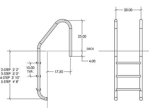 LTDF-101 19 Econoline Plastic Tread S.R.Smith