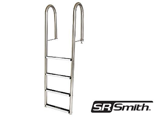 SR Smith Dock 4-Step Ladder 304 Stainless Steel | LLS-4