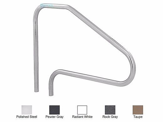 """SR Smith 48"""" Center Grab 4 Bend Stainless Steel Rail   304 Grade   .049 Wall Residential   DMS-101A"""
