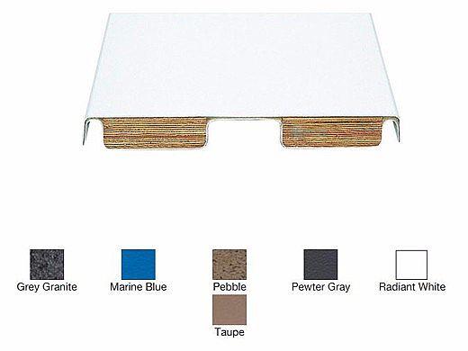 SR Smith 6 ft Fibre-Dive Board Radiant White with White Tread | 66-209-266S2-1