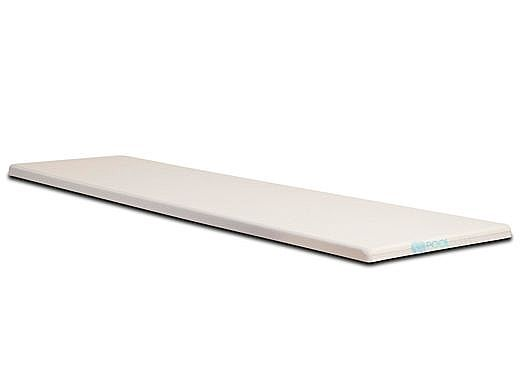 SR Smith Olympian Aluminum Board   10ft Radiant White   66-209-3102