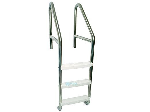 "SR Smith Econoline Standard Crossbrace Plus Ladder | Commercial 29"" 4-Step Plastic Tread .109"" Wall Thickness 1.90"" Diameter 