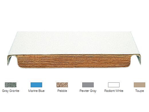 SR Smith Frontier II Board 6ft Pebble with Clear Tread | 66-209-586S23