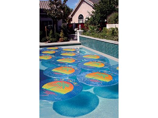 Solar Sun Rings Solar Blanket Palm Tree Pattern 5