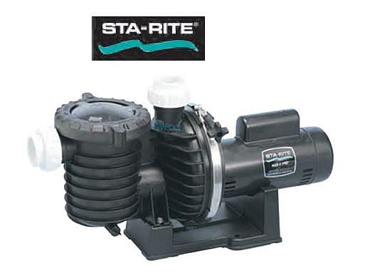 Sta-Rite Max-E-Pro 1.5HP Energy Efficient 2-Speed Up-Rated Pool Pump 230V | P6RA6YF-206L