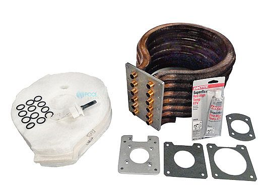 Pentair MasterTemp & Sta-Rite Max-E-Therm Tube Sheet Coil Assembly Kit | Models 400NA & 400LP | Prior to 1-12-09 | 77707-0234