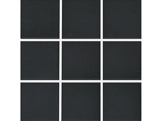 National Pool Tile Unglazed 2x2 Series #A34   Raven Black   0A3422GMS1P