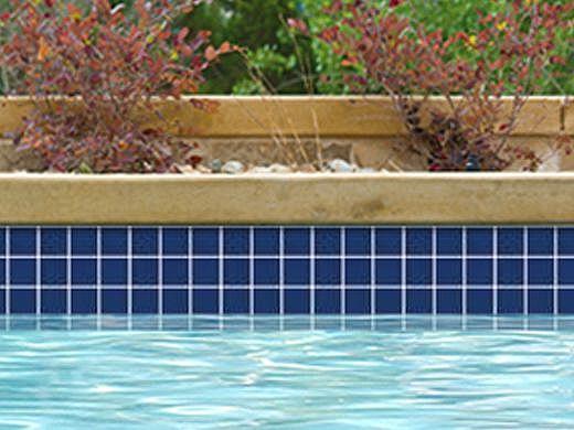 National Pool Tile Unglazed 2x2 Series #R08   Sapphire Sky   0R0822GMS1P