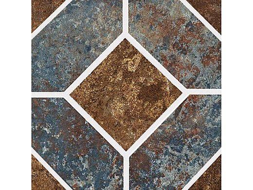 National Pool Tile Aztec Series 6x6 Deco | Cobalt | AZ6 DECO
