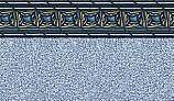 "Pacific Realm 8' Round Standard Gauge Unibead 52"" Tall Liner| LI0852MDU"