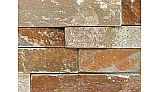 National Pool Tile Natural Ledgerstone 6x24 | Rust | LDGR-RUST