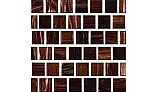 National Pool Tile Canyon Gems 1x1 Glass Tile | Golden | 201-024