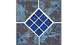 National Pool Tile Verona 6x6 Series | Tondela Blue Deco | VR681 DECO