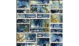 Fujiwa Tile Pilos Random Pattern Series | Autumn Blue | PILOS-402