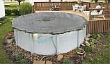 Arctic Armor Winter Cover | 16' x 32' Oval for Above Ground Pool | 20-Year Warranty | WC9828