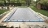 Arctic Armor Gorilla Winter Cover | 12' x 20' Rectangle for Inground Pool | 20-Year Warranty | WC9840
