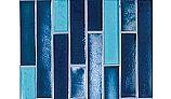 National Pool Tile Aquascapes Vertical Glass | Azure | OCN-AZURE VS6