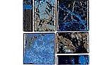 National Pool Tile Escapes Series Pool Tile | Riverstone | ESC-BLSTONE