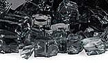 American Fireglass Half Inch Classic Collection | Black Fire Glass | 10 Pound Jar | AFF-BLK12-J