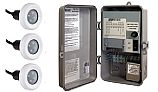 SR Smith TX-30 Power Center with Manual On-Off Switch   Includes 3 Treo LED Pool Lights   3TR-SRS-TX-30