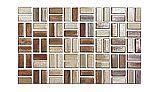 Cepac Tile Serenity Basket Weave Series 0.5x1 Tile | Autumn Leaves | SR1-BW