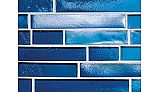 National Pool Tile Aquascapes Interlocking Glass | Sapphire | OCN-SAPPHIRE IS12