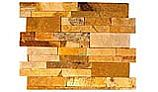 Natural Stone Ledger Panel 6x24 | Honey Wheat | Dressed Sandstone
