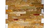 Natural Stone Ledger Panel 6x24 | Desert Gold | Dressed Quartzite